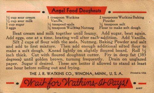 Angel Food Doughnuts