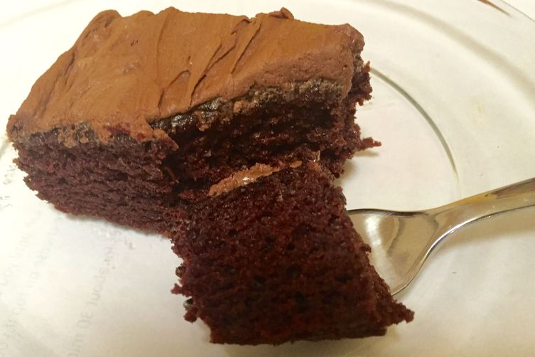 Thicker No-Egg Chocolate Cake